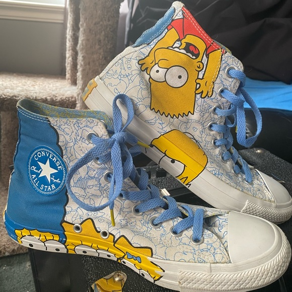 Special Edition Simpsons Converse Unisex Skater